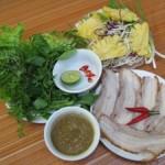 Quán Bánh tráng cuốn thịt heo, nem lụi ở Hà Nội