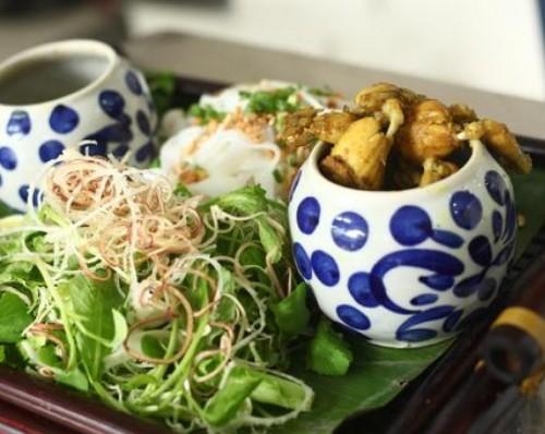 Mỳ Quảng ếch