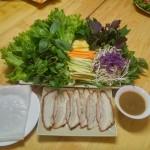 Bánh tráng Nem lụi Hoàng Bèo 338 Hồ Tùng Mậu, giảm 20% tuần khai trương