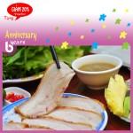 Bánh tráng cuốn thịt heo nem lụi Hoàng bèo, GIẢM 20% nhân dịp 6 năm